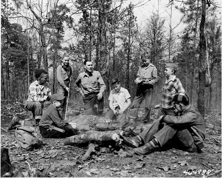 Sinds de oprichting van Boy Scouts zouden zo'n 12 duizend kinderen zijn misbruikt.  Beeld Corbis via Getty Images