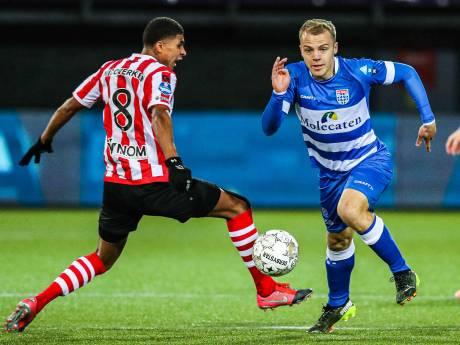 Seizoen kan nu al niet meer stuk voor PEC Zwolle-middenvelder Thomas van den Belt