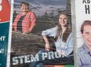 Adrienne Verschuren uit Haaren (links) en lijsttrekker Myrte Hesselberth uit Oisterwijk gingen voor PRO op kop bij de gemeenteraadsverkiezingen in 2020, nodig vanwege de opdeling van de gemeente Haaren over vier 'ontvangende' gemeenten.
