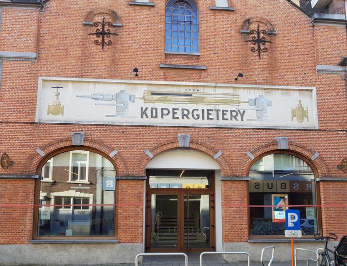 Het gebouw van Kopergietery in de Blekerijstraat.