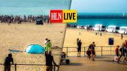 """Tumult op strand van Oostende na discussie tussen twee families, een persoon opgepakt. """"Vooral veel ramptoerisme"""""""