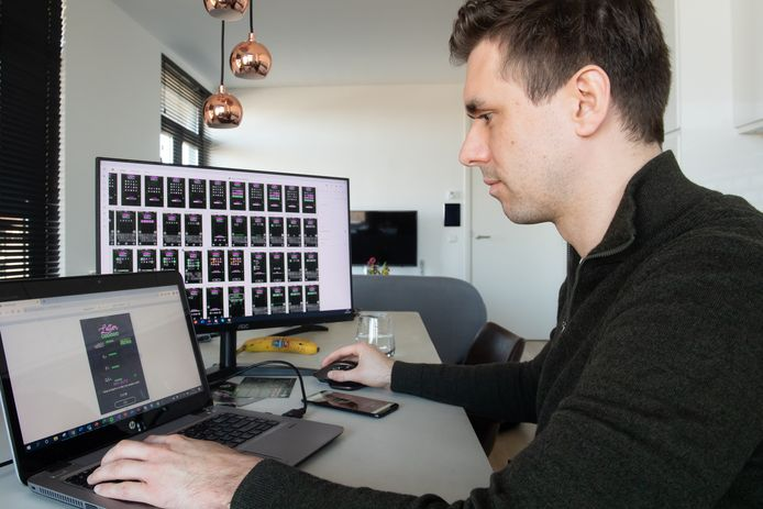 Vijf jaar lang werkte Ben Sestig aan de ontwikkeling van zijn online woordspelletje.