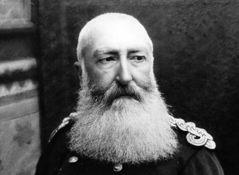 Koning Leopold II Beeld Archief Koninklijk Paleis