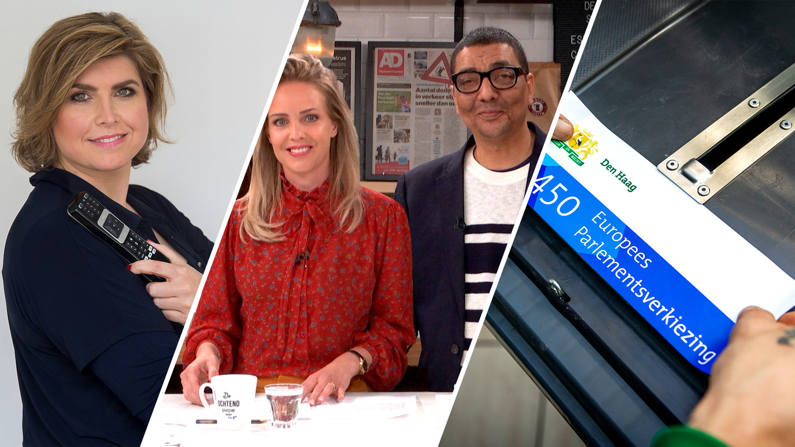 De Kiesvrouwen en Angela de Jong te gast in De Ochtend Show to go.