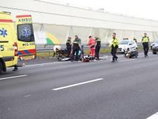 Motorrijder uit Vlaardingen (43) overlijdt in ziekenhuis na ongeluk op de A12