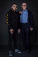 Abdullah en Fred, geportretteerd voor het project 'Vertel me alles'van Negin Zendegani.