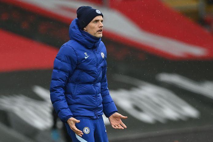 Thomas Tuchel neemt het met Chelsea op tegen Atlético Madrid.