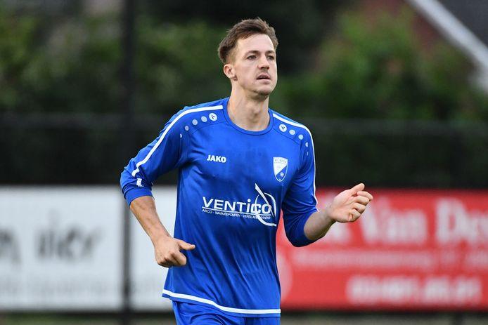 Stef Van den Heuvel scoorde bijna de helft van de Nijlense doelpunten tegen Noordstar.