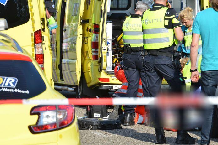 Fietsster overleden na ongeval met auto