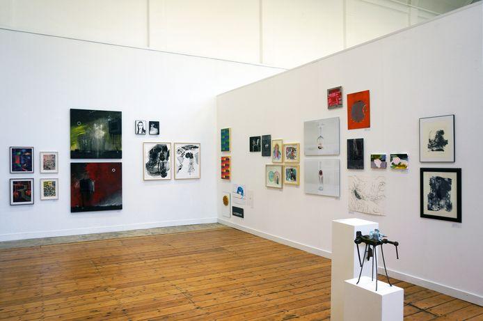 In PARK is werk van 138 Brabantse kunstenaars te zien én te koop. Foto René Korten/PARK