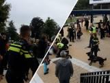 Coronademonstratie in Steenwijk loopt uit de hand; politie zet honden in