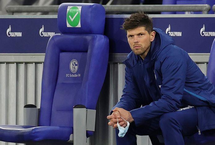 Klaas-Jan Huntelaar bleef tegen FC Köln op de bank.