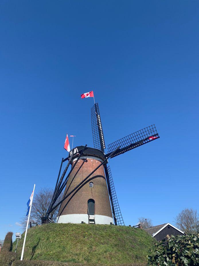 De molen in Etten