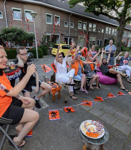 Oranje scoort ook punten in Stratum; Heggenroosstraat blij met overwinning: 'Laat maar komen'