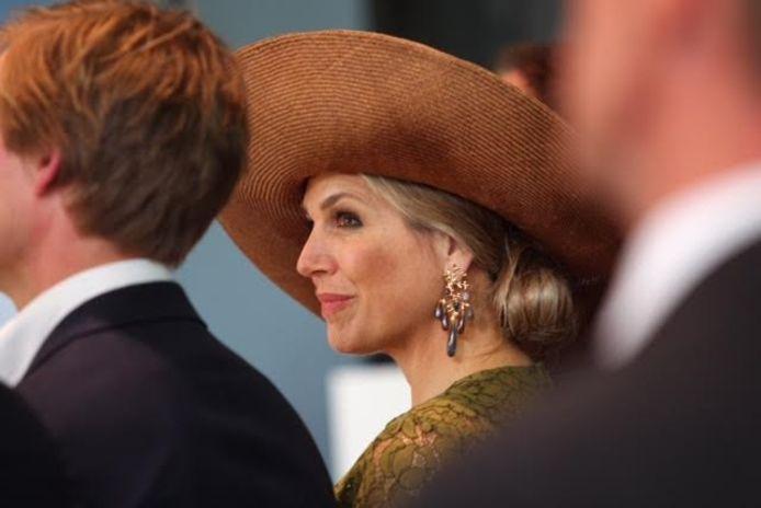 Koningin Máxima bezoekt Eindhoven voor de opening van de Singularity University.