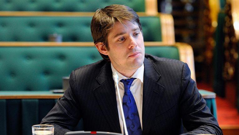 Arjan Vliegenthart, de vorige wethouder van Sociale Zaken, hoopte dat een op de drie deelnemers aan de proef een fulltimebaan zou vinden Beeld anp