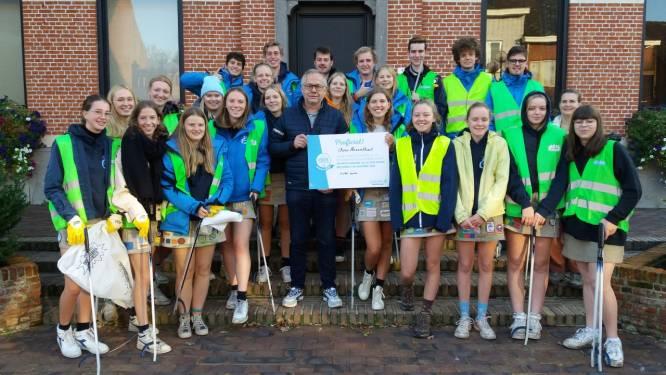 Scholen en Chiro ontvangen samen 3 648 euro voor geleverde inspanningen tegen zwerfvuil in Stoetersdorp