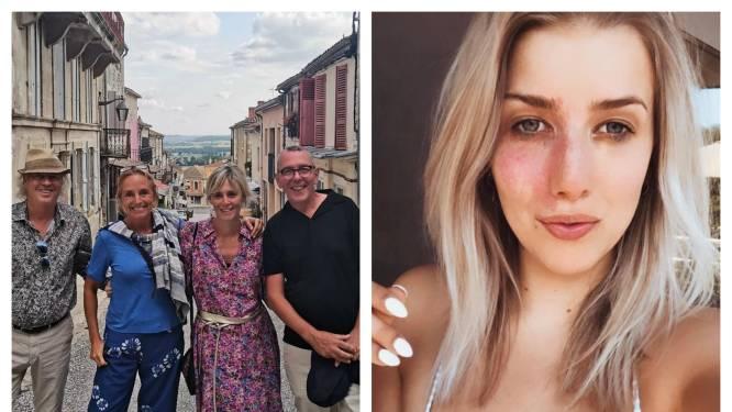 SHOWBITS. An Swartenbroekx op vakantie met haar 'ex' en Laura Lieckens poseert zonder make-up