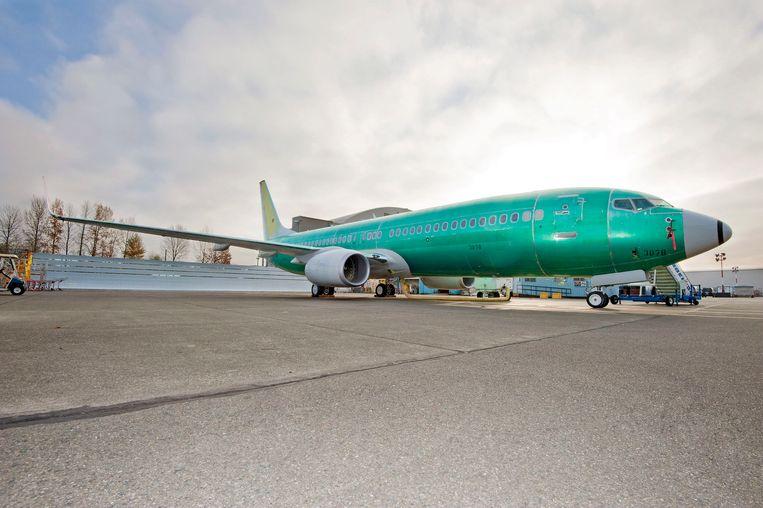 Een Boeing 737 Next Generation. Beeld EPA