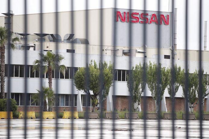 Ancien site Nissan de Barcelone.