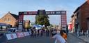 Sacha Weemaes sprint naar de zege.
