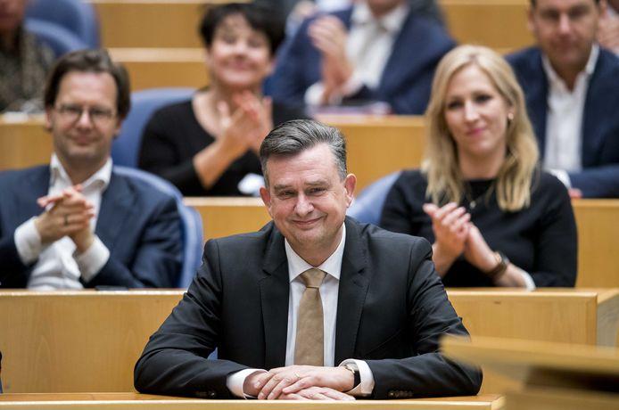 SP'er Emile Roemer neemt afscheid van de Tweede Kamer.