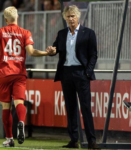 Gertjan Verbeek stelt zelfs immer vrolijke Ally de Aap teleur