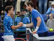 European Open: fin de tournoi pour Murray, Schwartzman et Nakashima en quarts