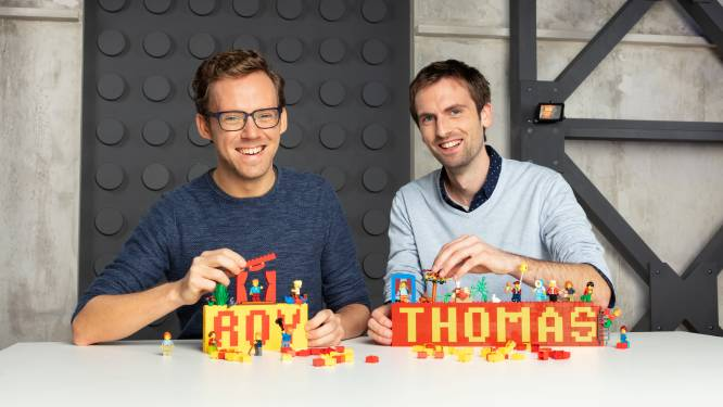 """Lommelaars Roy en Thomas in finale van LEGO Masters: """"Eerst hadden we schrik om ons belachelijk te maken"""""""