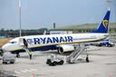 Vliegtuig van Ryanair.