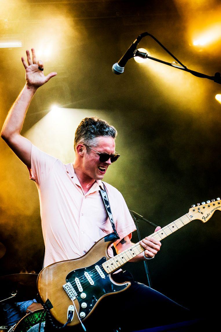 Millionaire, ranzige rock-'n-roll Beeld Stefaan Temmerman