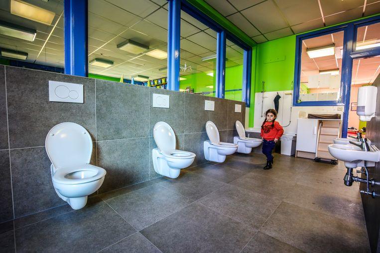 Het sanitair van basisschool Vogelzang is nu nog meer comfortabel