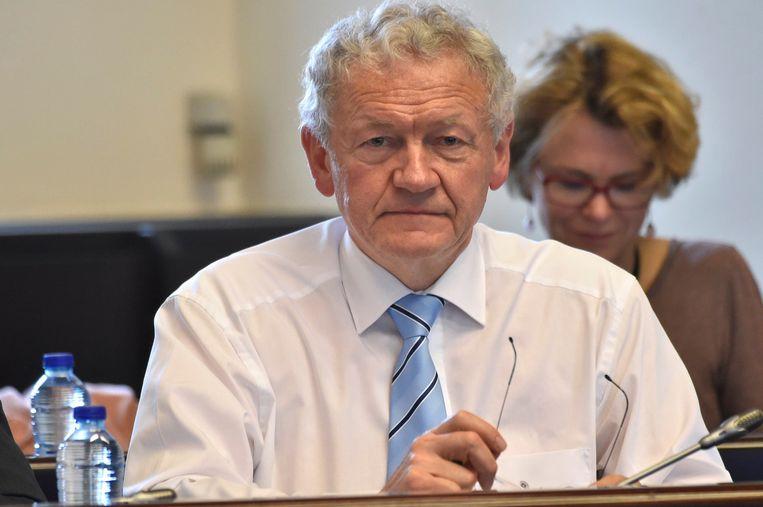 Minister van Mobiliteit Bellot. Beeld Photo News