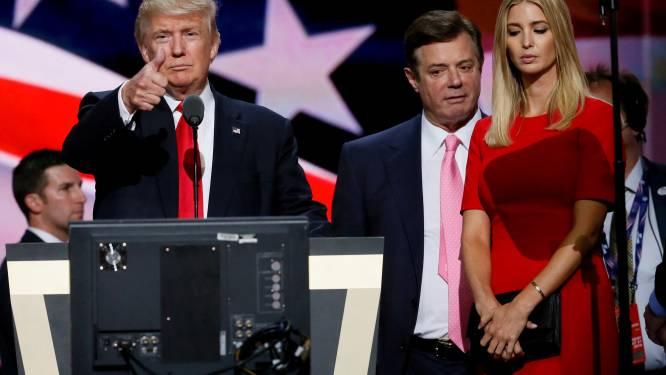 Gewezen campagneleider Trump aangeklaagd in zaak van Russische inmenging