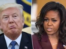 Donald Trump ironise sur le physique de Michelle Obama sans savoir qu'il est enregistré