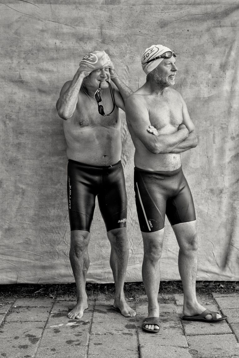 Jaap Ypenburg (68, links) en Johan van Steen (66). Beeld Kees Rijken