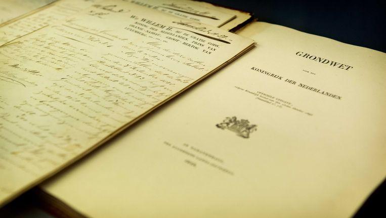 De geschiedenis van de democratie, zeker de periode vóór de Grondwet van 1848, is lang in de schaduw gebleven. Beeld ANP