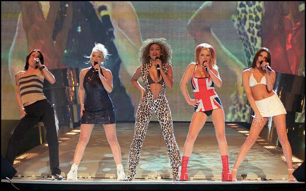 Archiefbeeld van de Spice Girls.