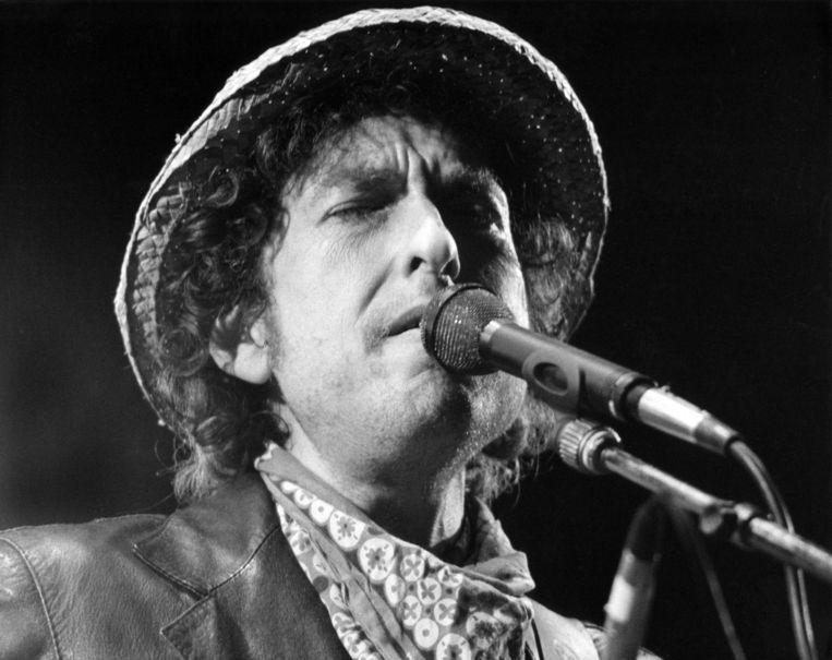 Bob Dylan in 1984. Beeld AFP