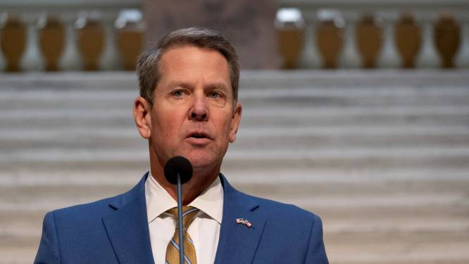 Trump roept gouverneur Georgia op om Senaatsverkiezing af te gelasten
