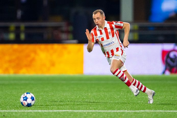 Olivier Rommens eerder dit jaar nog in het shirt van TOP Oss.