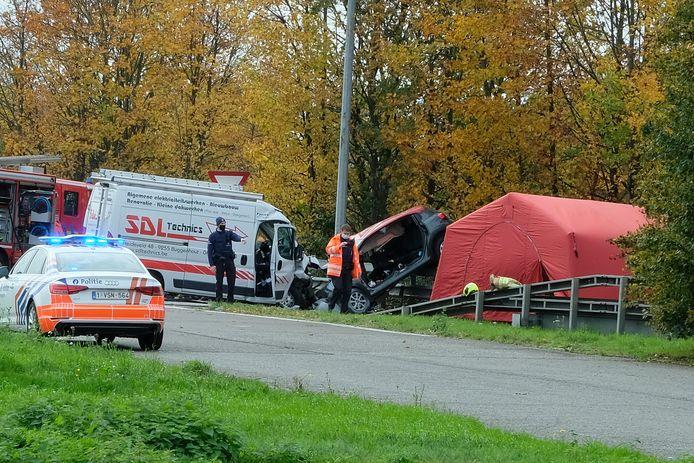 Het ongeval in Machelen.