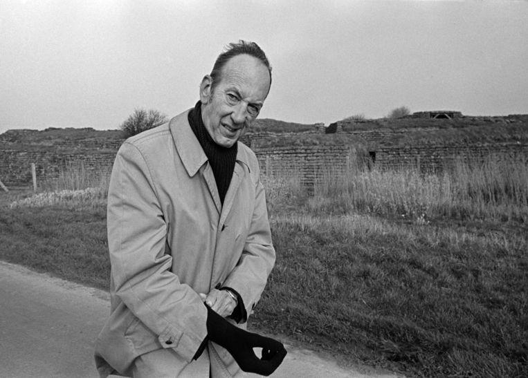 Schrijver Bob den Uyl is befaamd vanwege zijn reisverhalen die eigenlijk geen reisverhalen zijn. Beeld Hollandse Hoogte / Gerard Wessel Fotografie