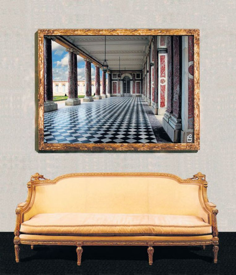 Nieuwe collectie van de Kunstfabriek: Europese interieurs, geschilderd in China. Foto GPD Beeld