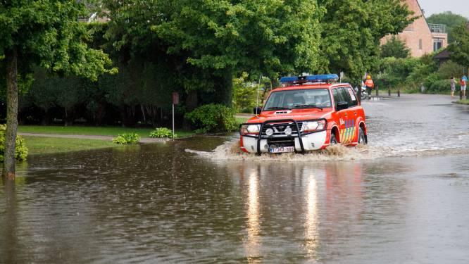 Handenvol werk voor brandweer na zware regenval in Tessenderlo