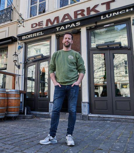 Horecaondernemer Dirk van de Voort opent dinsdag drie terrassen: 'Ik weet dat het niet mag, maar wij zijn nu juist de oplossing'