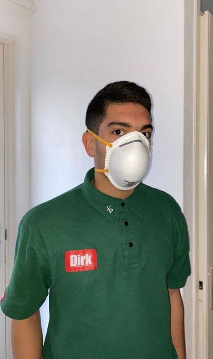 De medewerker van Dirk van den Broek in Oud-Beijerland wilde veilig werken, maar ging naar huis na een gesprek met zijn supermarktmanager.