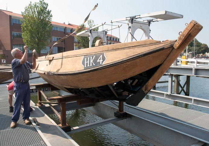 Bij vaststelling van de begroting van de gemeente Harderwijk is onder andere 50.000 euro toegezegd aan de Botterstichting voor het onderhoud van het varend historisch erfgoed, waaronder de HK4.