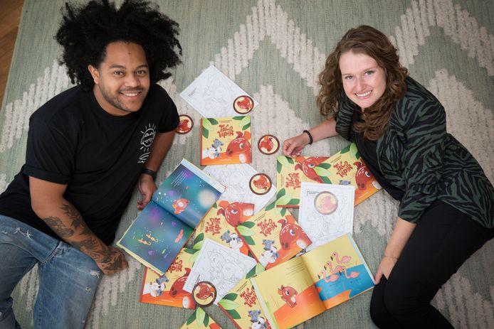 Schrijfster Renske van den Bogaard en illustrator Cesar Schilder, beiden uit Breda, bedachten educatieve verhalen over Taco Tapir. Inmiddels zijn diens avonturen in boekvorm uitgebracht.