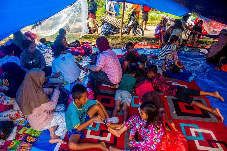Opvang in West-Sulawesi. Beeld EPA